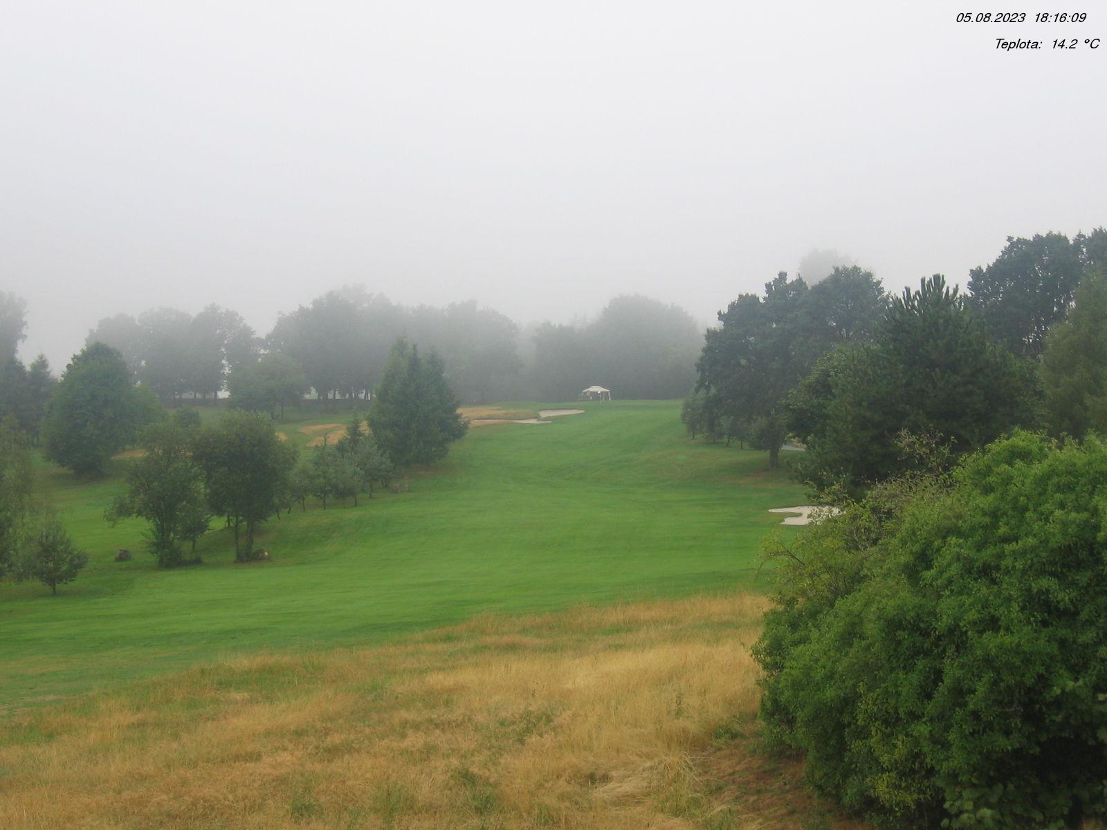 Webová kamera z Golfového klubu Čertovo břemeno