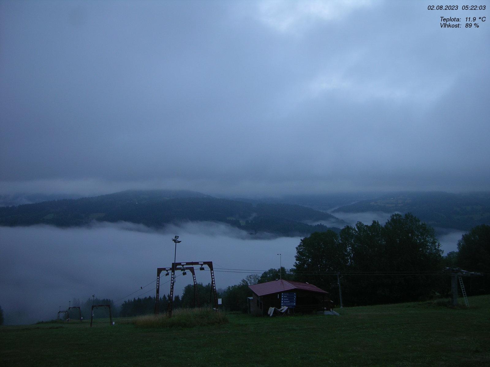 Webcam Ski Resort Rokytnice n. Jizerou Lysa Hora & Kotel - Giant Mountains