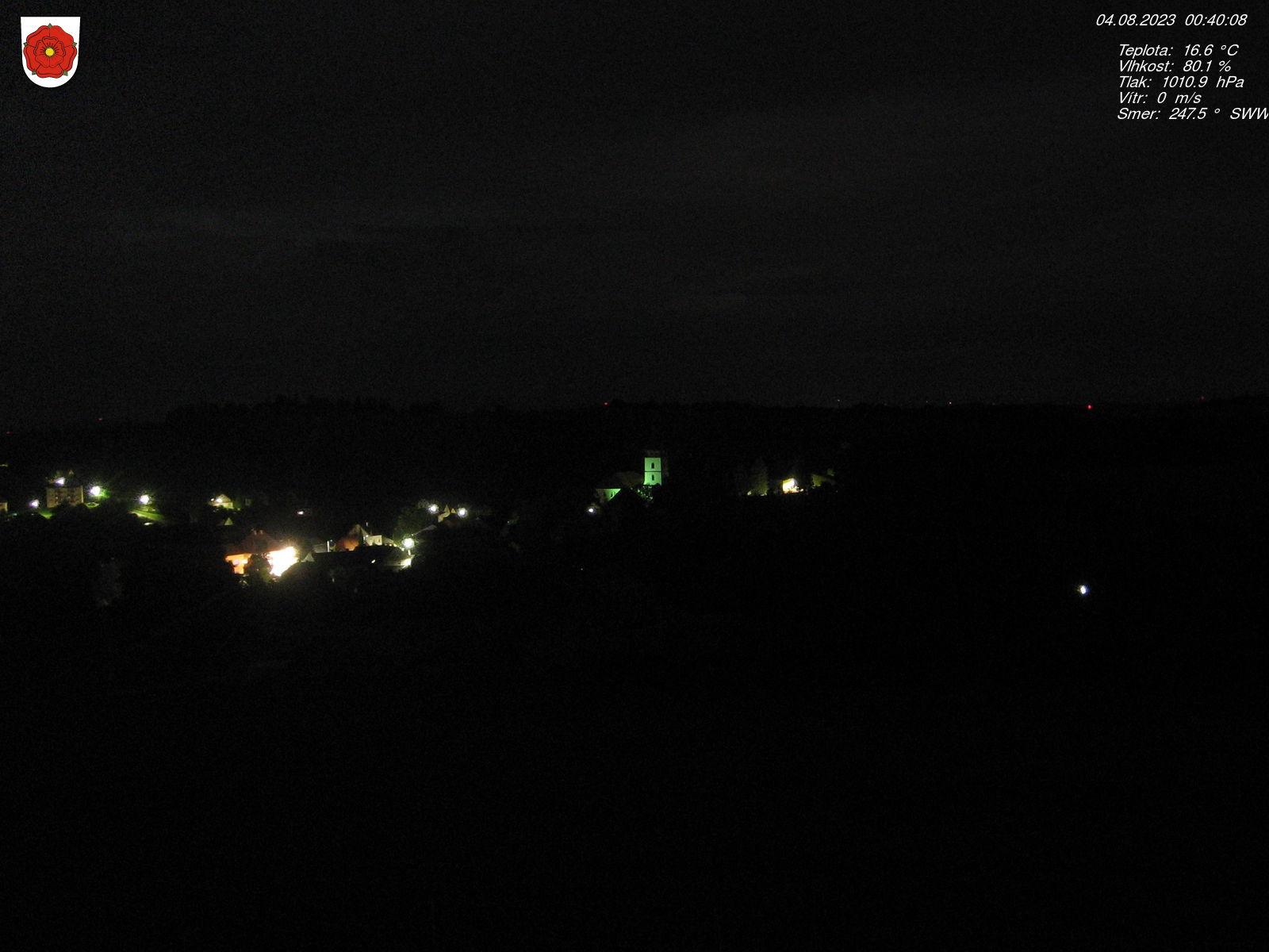 Webkamera Jistebnice na Táborsku