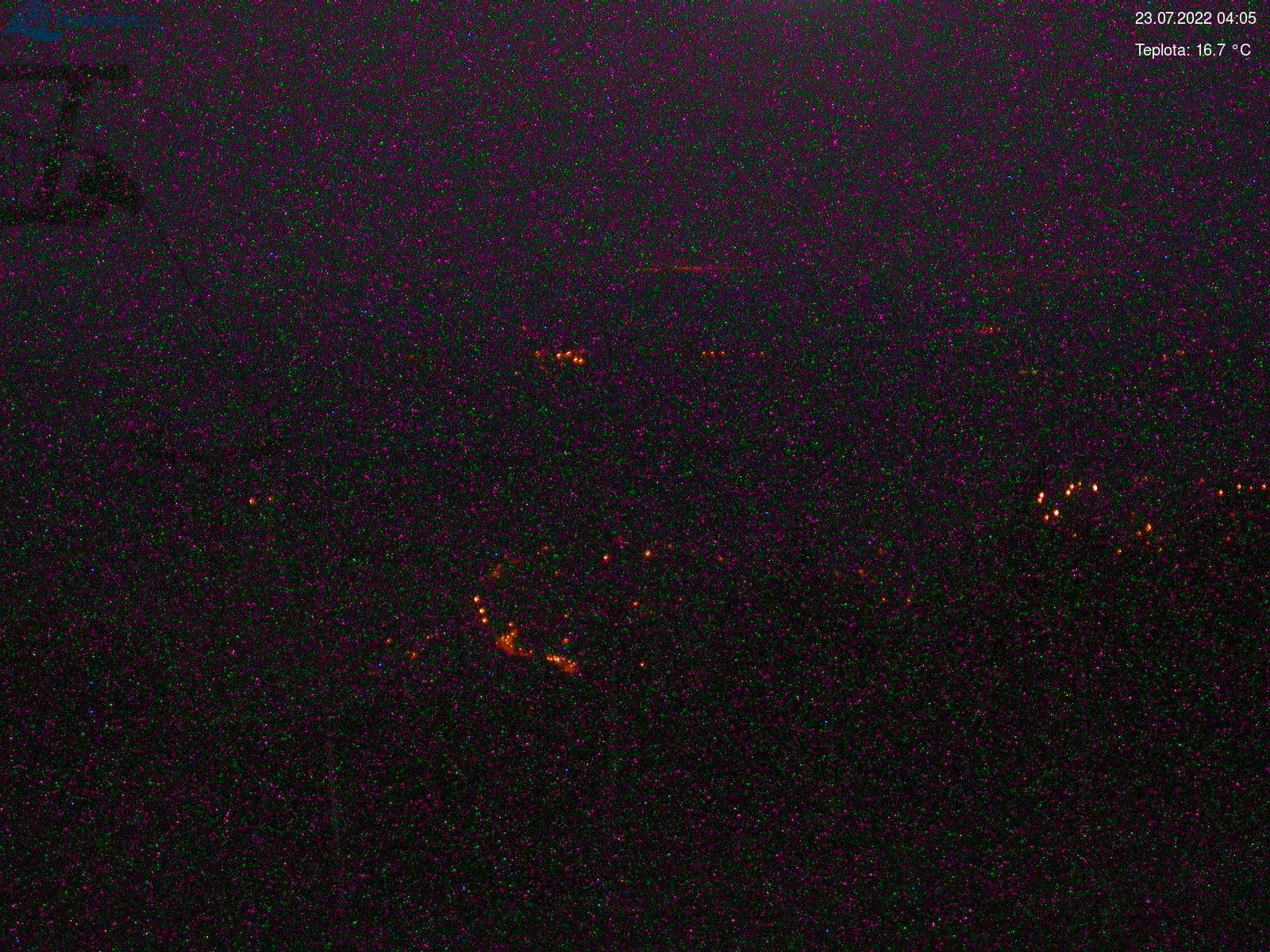 Webkamera na Lysé hoře v Krkonoších