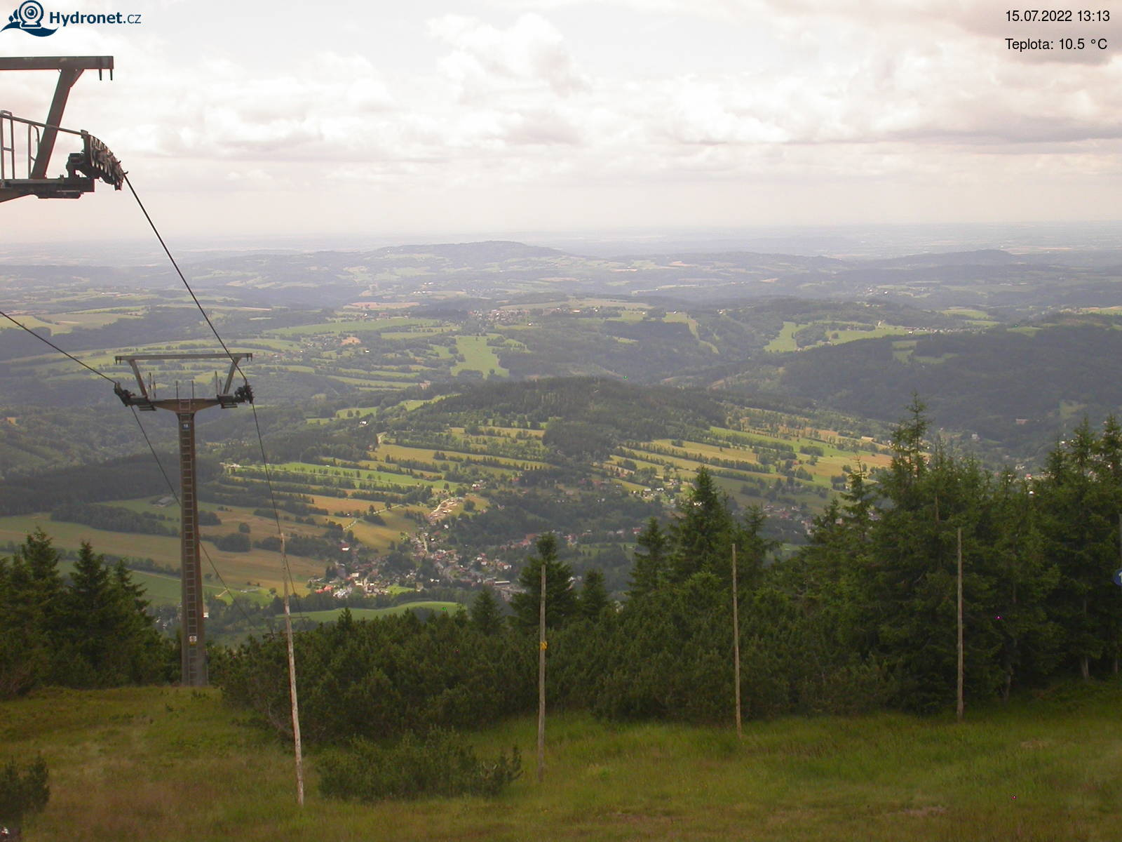 Kamera na żywo - Lysá hora