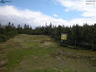 Lysá hora - pohled na sever