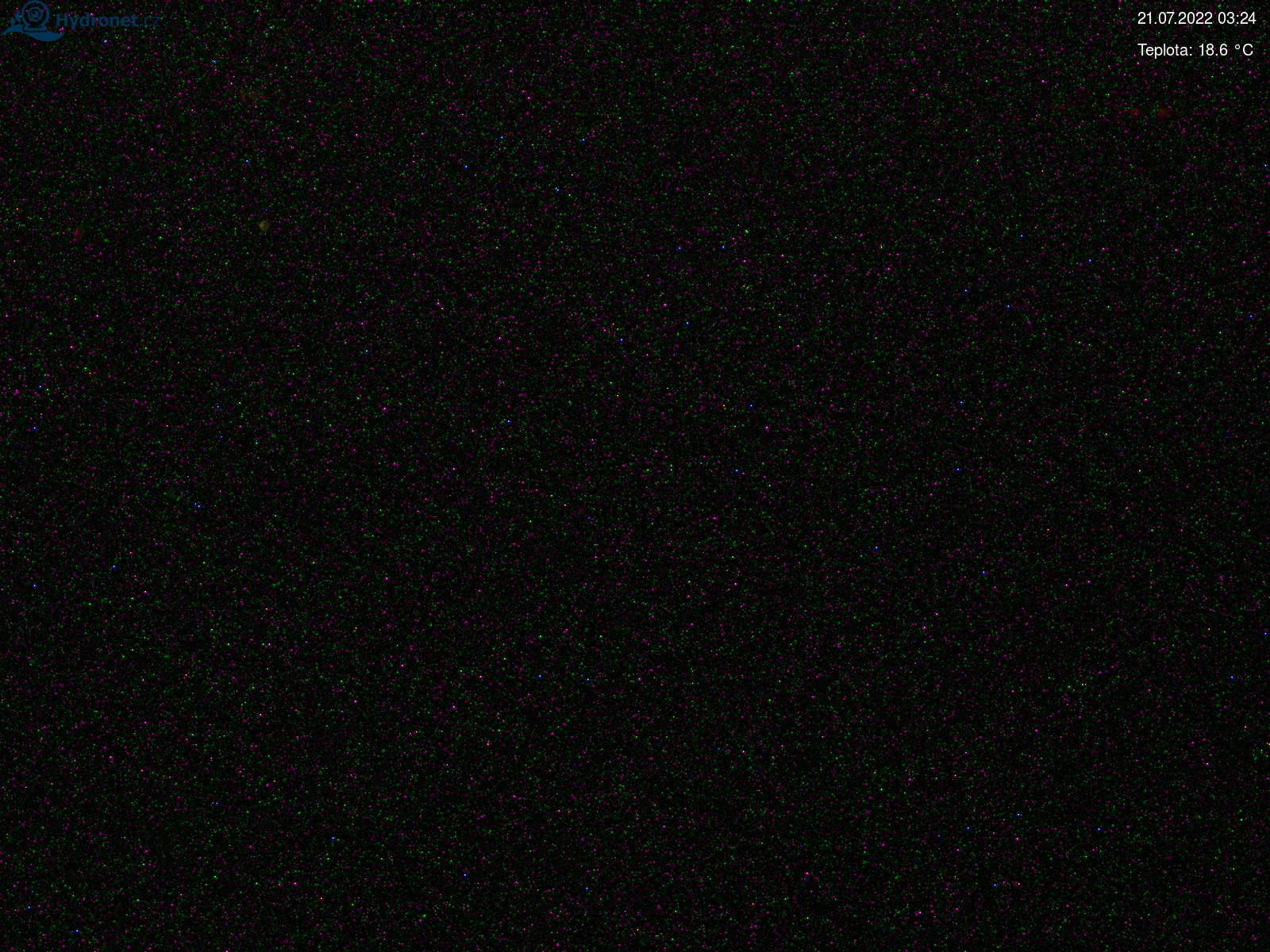 Webkamera na Lysé hoře v Krkonoších - pohled na východ
