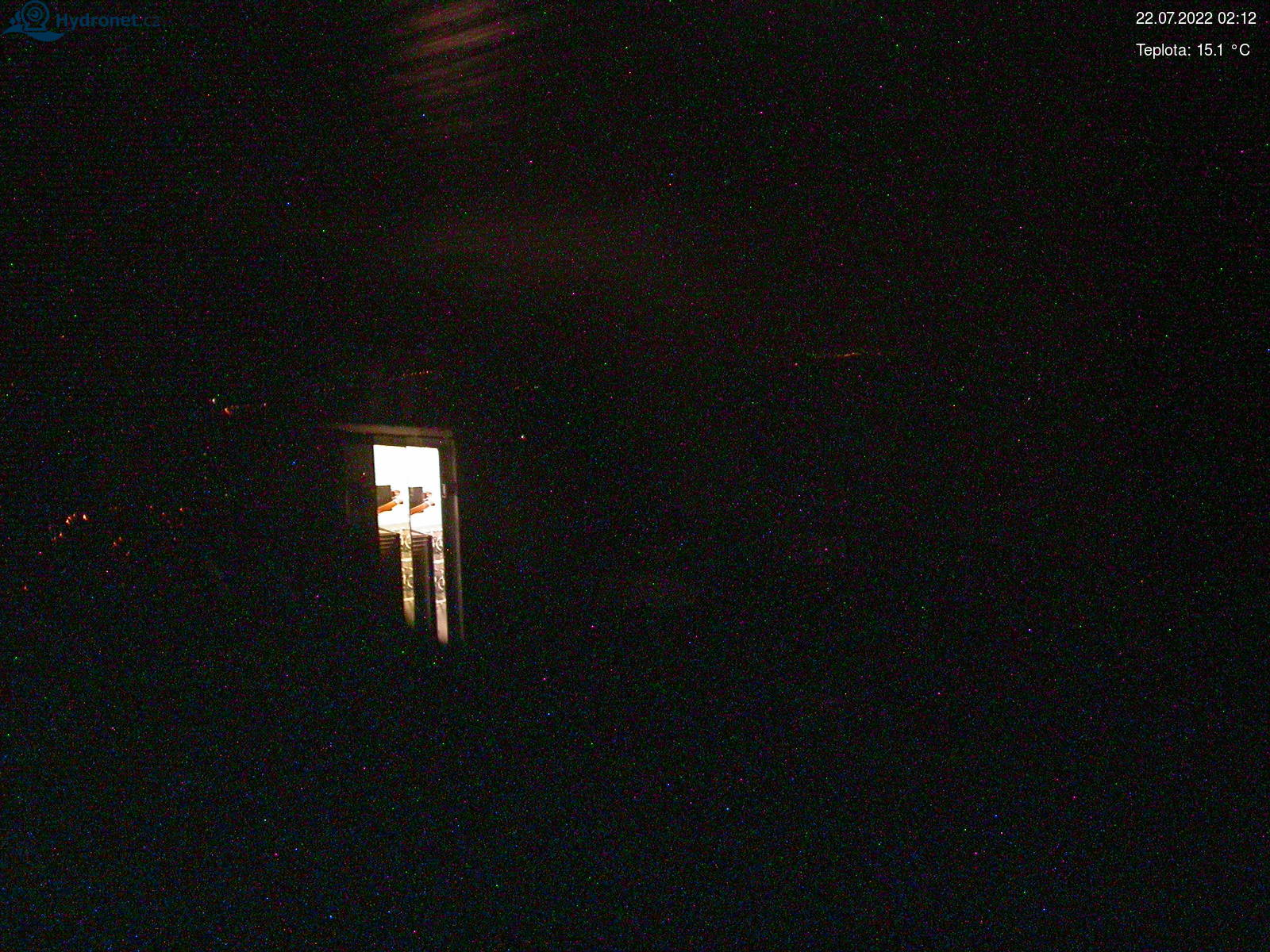 Webkamera Lysá hora - pohled na západ