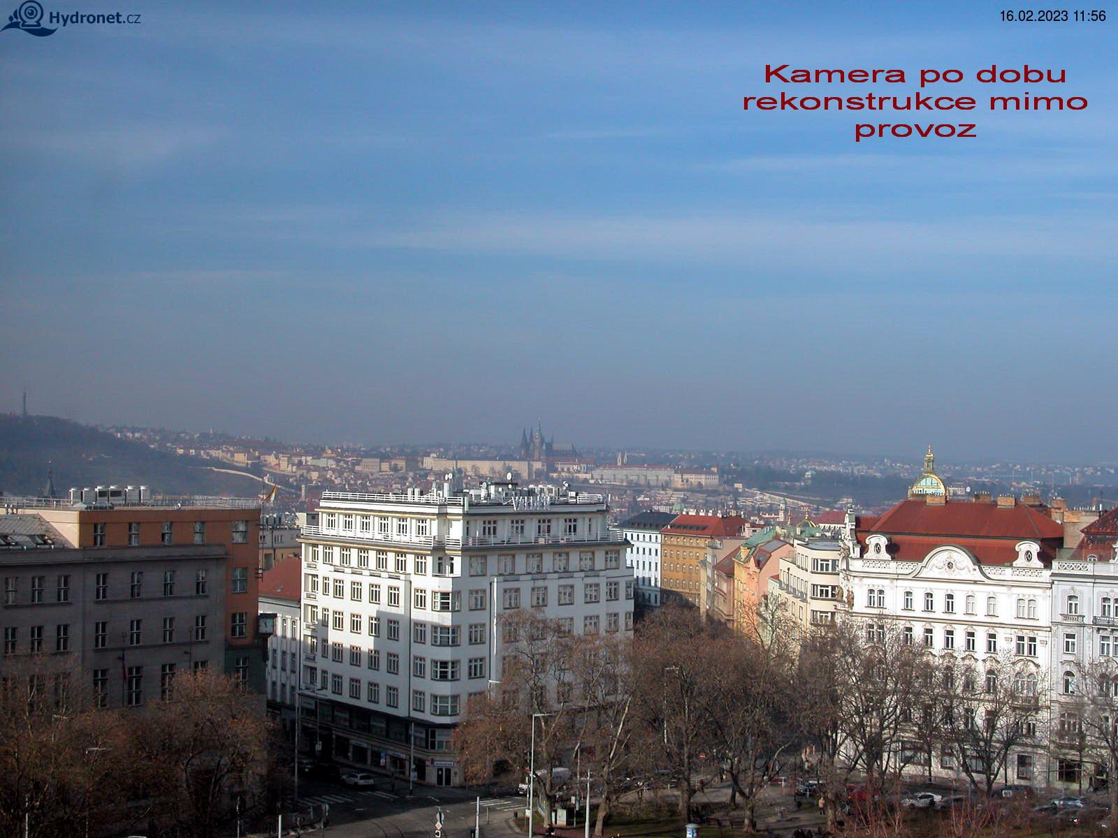 Webkamera Náměstí Míru
