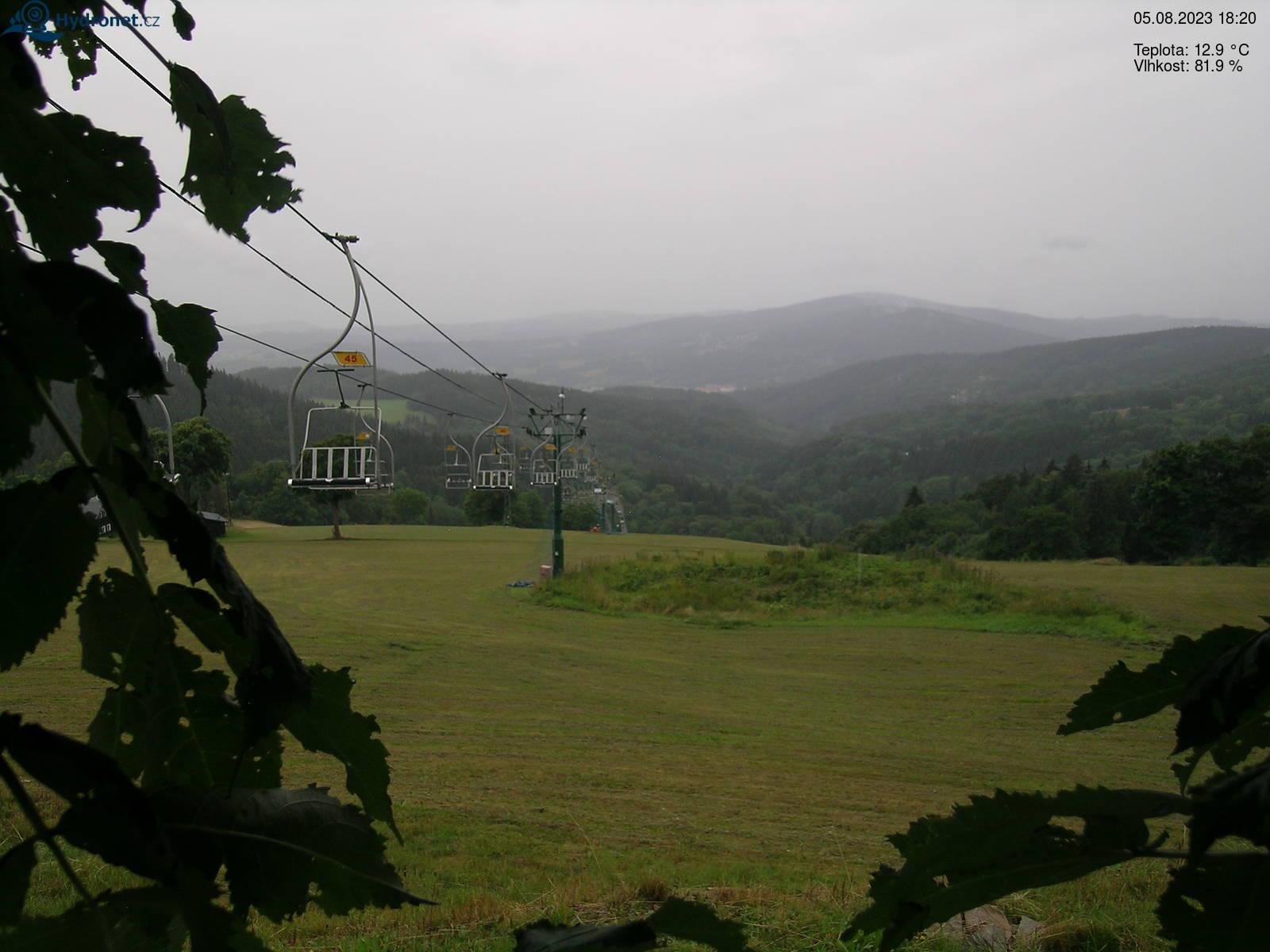 Webkamera Skiareál Rejdice - Kořenov