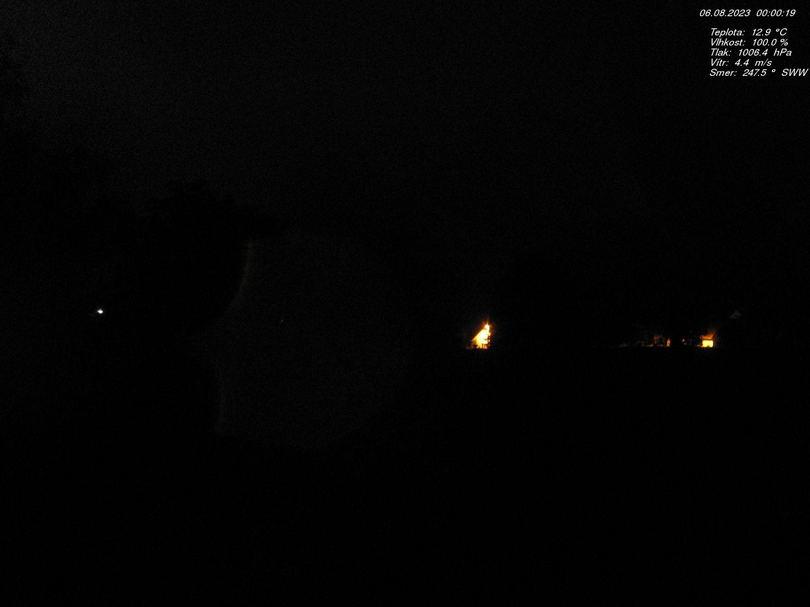 Webkamera v obci Střezimíř - vodárna