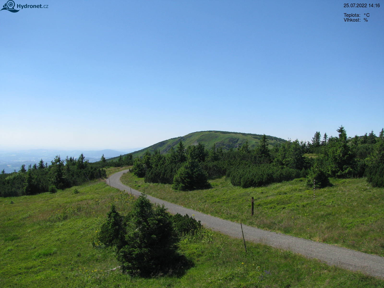 Webcam Skigebiet Spindlermühle Riesengebirge