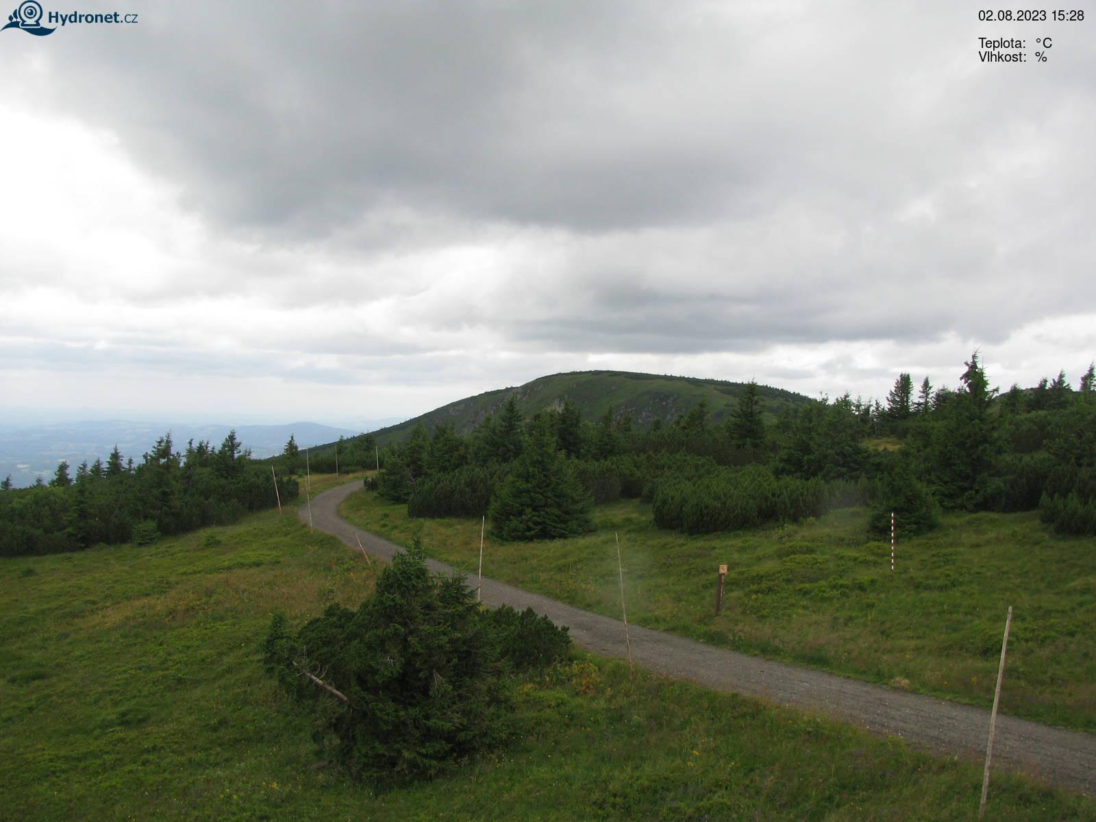 Webcam Skigebiet Spindlermühle Kotel - Riesengebirge
